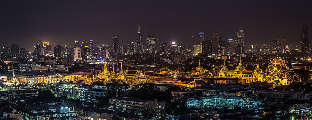 Grote paleis in bangkok, Thailand - Medicinale wiet legaal in Thailand
