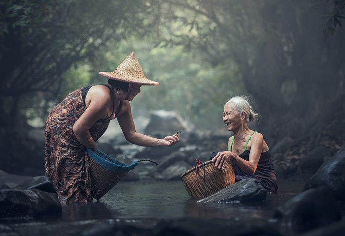 thais platteland - Medicinale wiet legaal in Thailand