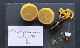 Limoneen komt voor in onder andere citroenen, kruiden en wiet